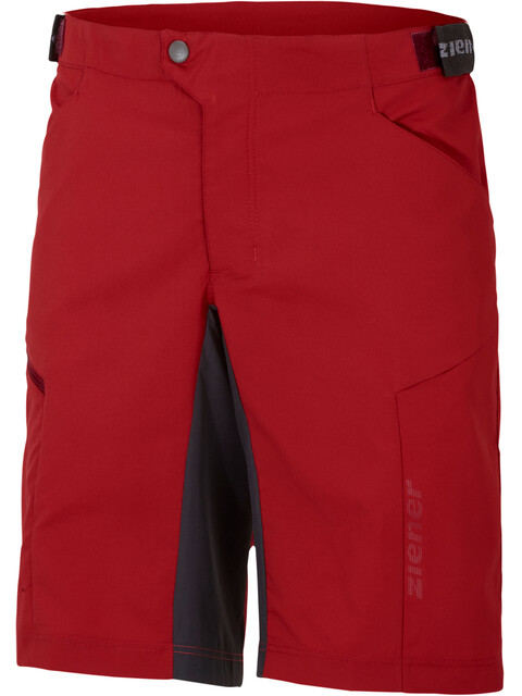 Ziener Cang X-Function Shorts Men college red